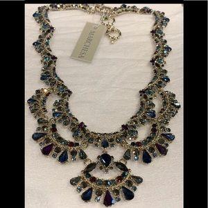 Marchesa! Statement Crystal Necklace